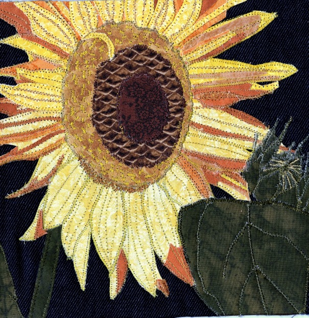 Quilted Sunflower