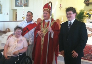 tom and family at confirmation