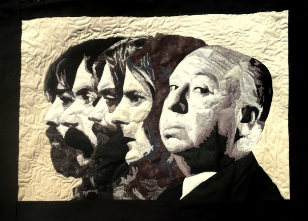 alfred and the byrds, final quilt sized