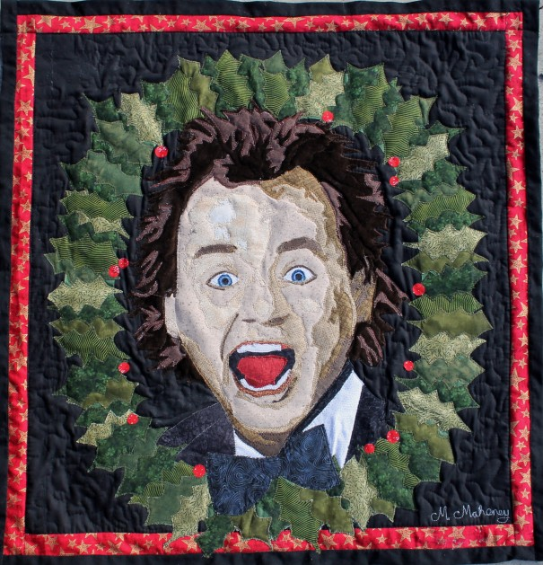 Scrooged - Yule Love It! final quilt