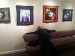 bub admires art
