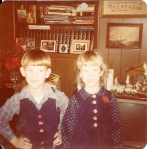 #11 Bill and I Christmas outfits 1979